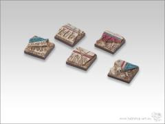 20mm Square Infantry Base - Temple of Isis