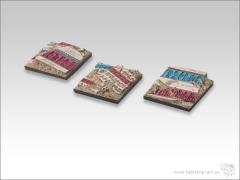 40mm Square Infantry Base - Temple of Isis