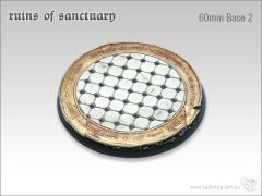 60mm Round Base #2 - Ruins of Sanctuary