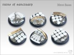 30mm Round Base w/Lip - Ruins of Sanctuary