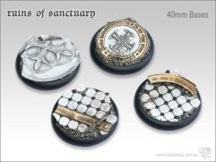 40mm Round Base w/Lip - Ruins of Sanctuary
