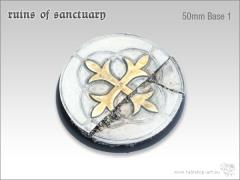 50mm Round Base #1 - Ruins of Sanctuary