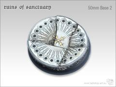50mm Round Base #2 - Ruins of Sanctuary