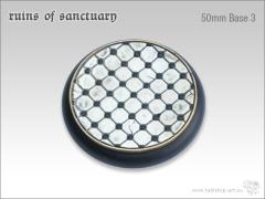 50mm Round Base #3 - Ruins of Sanctuary