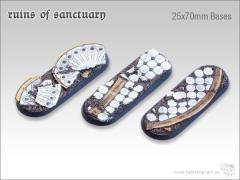 25x70mm Biker/Cavalry Base - Ruins of Sanctuary