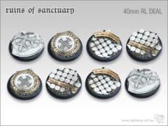 40mm Round Base - Ruins of Sanctuary (8)