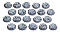 30mm Round Base w/Lip - Mystic Circle Stones
