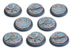 40mm Round Base w/Lip - Mystic Circle Stones