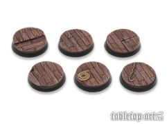 32mm Round Base - Pirate Ship