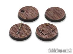 40mm Round Base - Pirate Ship