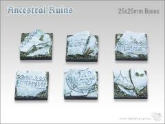 25mm Square Base - Ancestral Ruins