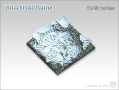 50mm Square Monster Base - Ancestral Ruins
