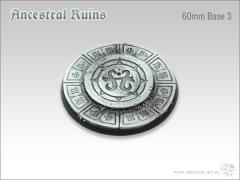 60mm Round Base #3 - Ancestral Ruins