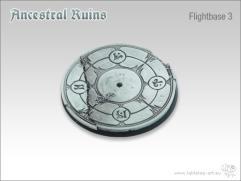 60mm Round Flightbase #3 - Ancestral Ruins