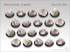 30mm Round Base w/Lip - Ancestral Ruins (20)
