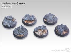 30mm Round Base w/Lip - Ancient Machinery