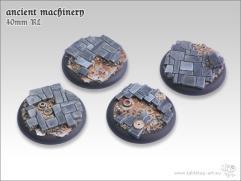 40mm Round Base w/Lip - Ancient Machinery
