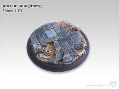 50mm Round Base w/Lip #1 - Ancient Machinery
