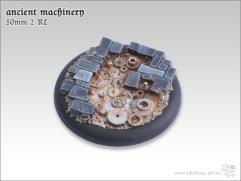 50mm Round Base w/Lip #2 - Ancient Machinery
