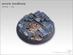 50mm Round Base w/Lip #3 - Ancient Machinery