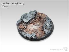 60mm Round Base w/Lip #1 - Ancient Machinery