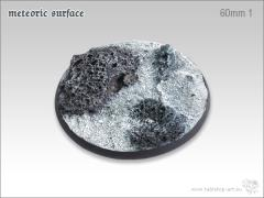 60mm Round Base #1 - Meteoric Surface
