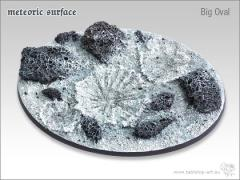 90x110mm Oval Base - Meteoric Surface