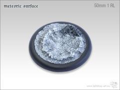 50mm Round Base w/Lip #1 - Meteoric Surface