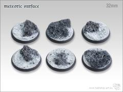 32mm Round Base - Meteoric Surface