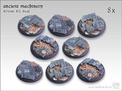 40mm Round Base w/Lip - Ancient Machinery (8)