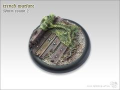 50mm Round Base w/Lip #2 - Trench Warfare