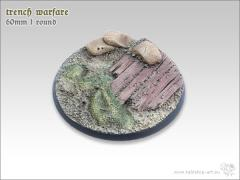 60mm Round Base #1 - Trench Warfare
