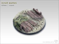 60mm Round Base #2 - Trench Warfare