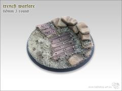 60mm Round Base #3 - Trench Warfare