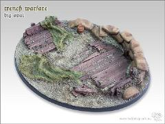 90x110mm Oval Base - Trench Warfare