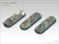 25x70mm Biker/Cavalry Base - Trench Warfare