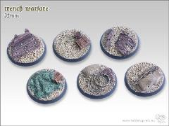 32mm Round Base - Trench Warfare