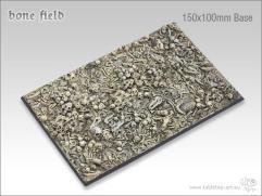 150x100mm Monster Base - Bone Field