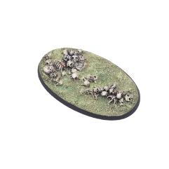 75mm Oval Base - Bone Field #1