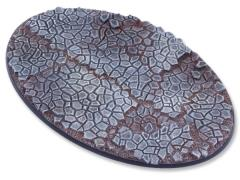 120mm Oval Base - Cobblestone #2