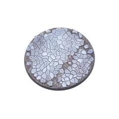 100mm Round Base - Cobblestone