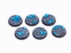 32mm Round Base - Crystal Field