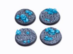 40mm Round Base - Crystal Field