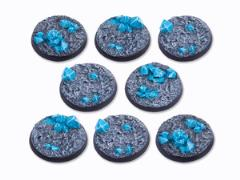 40mm Round Base - Crystal Field (8)