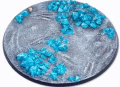 130mm Round Base - Crystal Field