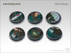 30mm Round Base w/Lip - Swampland