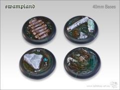 40mm Round Base w/Lip - Swampland