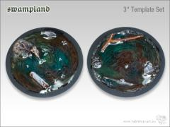 "3"" Swamp Template Set"
