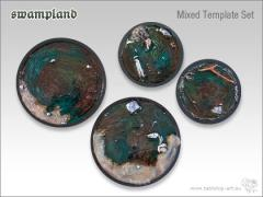 "5"" and 3"" Swamp Template Set"