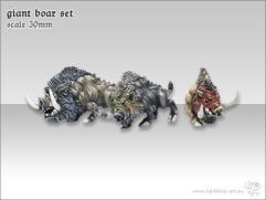 Giant Boar Set
